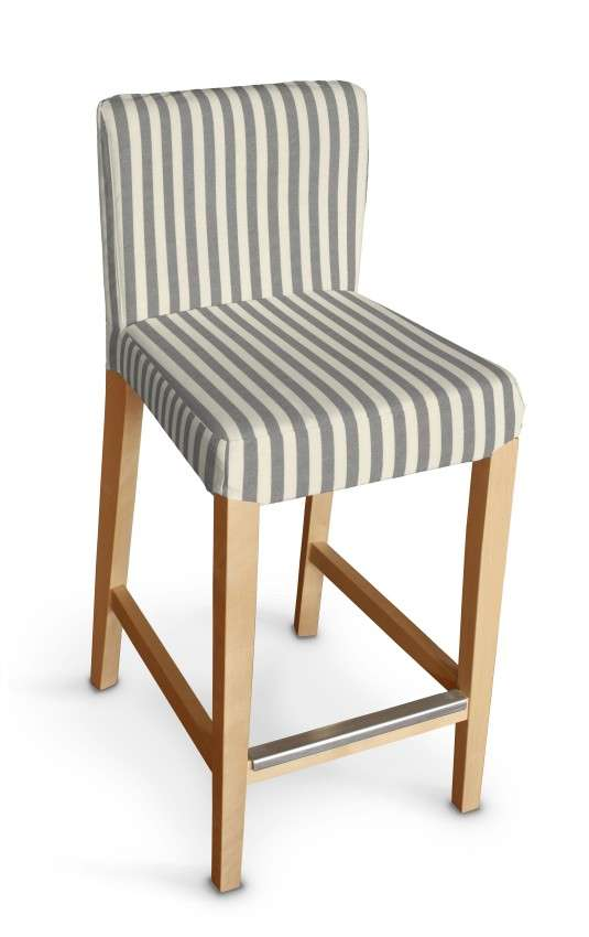Sukienka na krzesło barowe Henriksdal krótka krzesło barowe Henriksdal w kolekcji Quadro, tkanina: 136-12