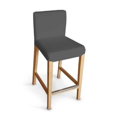 Návlek na barovú stoličku Henriksdal, krátky V kolekcii Quadro, tkanina: 136-14