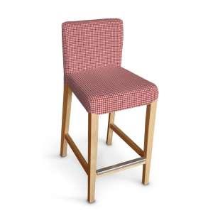 Sukienka na krzesło barowe Henriksdal krótka krzesło barowe Henriksdal w kolekcji Quadro, tkanina: 136-15