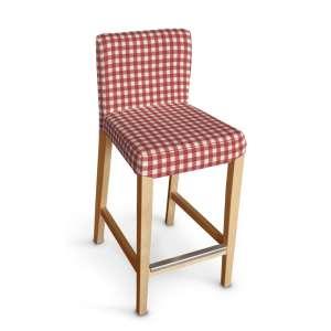Hendriksdal baro kėdės užvalkalas - trumpas Hendriksdal baro kėdė kolekcijoje Quadro, audinys: 136-16