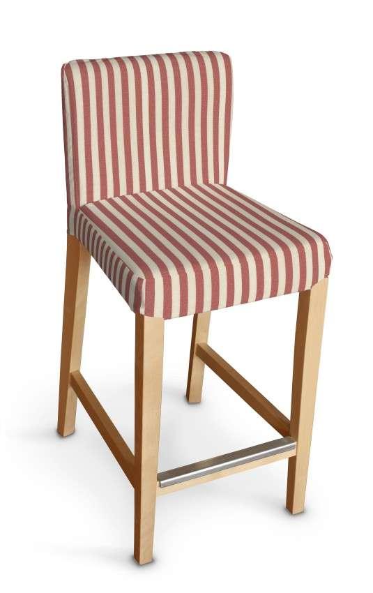 Hendriksdal baro kėdės užvalkalas - trumpas Hendriksdal baro kėdė kolekcijoje Quadro, audinys: 136-17