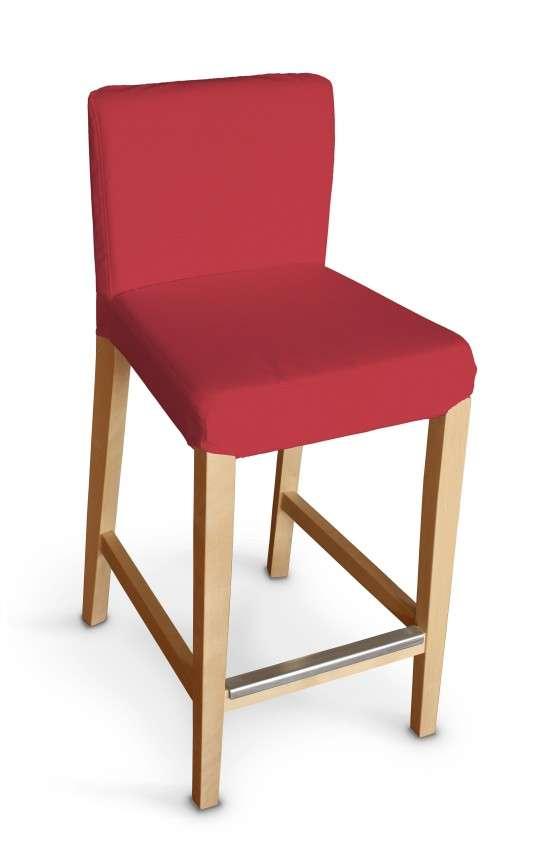 Návlek na barovú stoličku Henriksdal, krátky V kolekcii Quadro, tkanina: 136-19