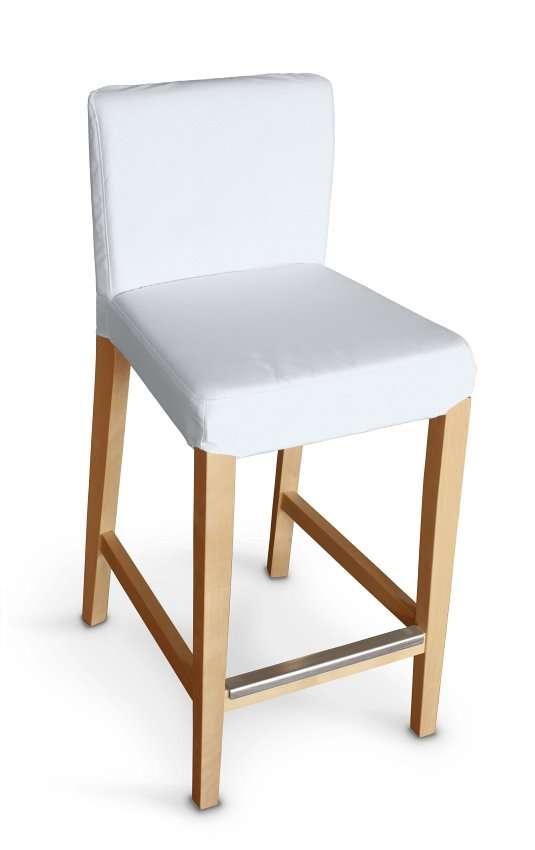 Sukienka na krzesło barowe Henriksdal krótka krzesło barowe Henriksdal w kolekcji Cotton Panama, tkanina: 702-34