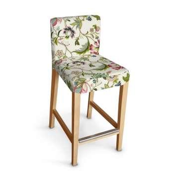 Sukienka na krzesło barowe Henriksdal krótka krzesło barowe Henriksdal w kolekcji Londres, tkanina: 122-00