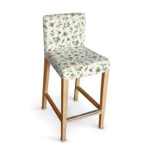 Sukienka na krzesło barowe Henriksdal krótka krzesło barowe Henriksdal w kolekcji Londres, tkanina: 122-02