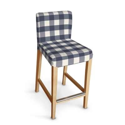 Sukienka na krzesło barowe Henriksdal krótka w kolekcji Quadro, tkanina: 136-03