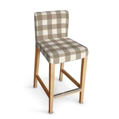 Sukienka na krzesło barowe Henriksdal krótka w kolekcji Quadro, tkanina: 136-08
