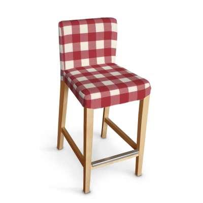 Sukienka na krzesło barowe Henriksdal krótka w kolekcji Quadro, tkanina: 136-18
