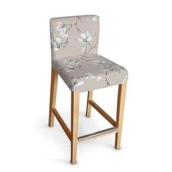 Sukienka na krzesło barowe Henriksdal krótka krzesło barowe Henriksdal w kolekcji Flowers, tkanina: 311-12