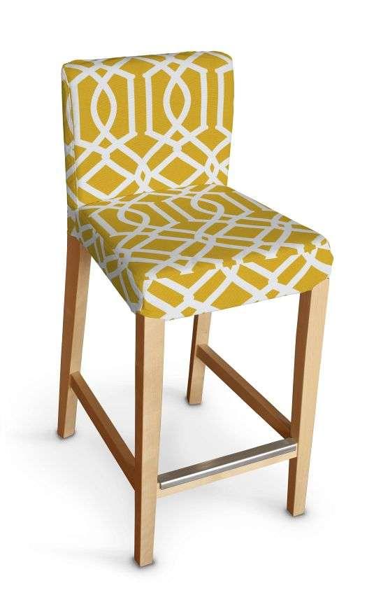 Sukienka na krzesło barowe Henriksdal krótka krzesło barowe Henriksdal w kolekcji Comics, tkanina: 135-09