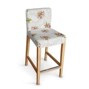 Hendriksdal baro kėdės užvalkalas - trumpas Hendriksdal baro kėdė kolekcijoje Flowers, audinys: 311-15