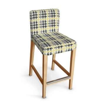 Sukienka na krzesło barowe Henriksdal krótka krzesło barowe Henriksdal w kolekcji Brooklyn, tkanina: 137-79