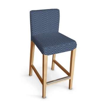 Sukienka na krzesło barowe Henriksdal krótka krzesło barowe Henriksdal w kolekcji Brooklyn, tkanina: 137-88