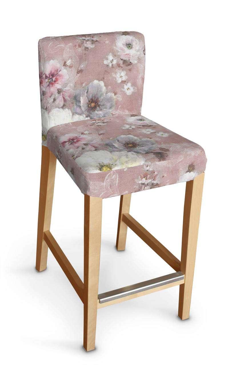 Hendriksdal baro kėdės užvalkalas - trumpas Hendriksdal baro kėdė kolekcijoje Monet, audinys: 137-83