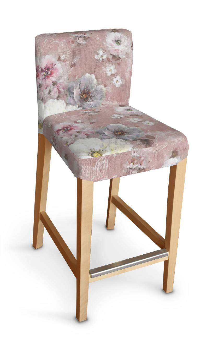 Sukienka na krzesło barowe Henriksdal krótka krzesło barowe Henriksdal w kolekcji Monet, tkanina: 137-83