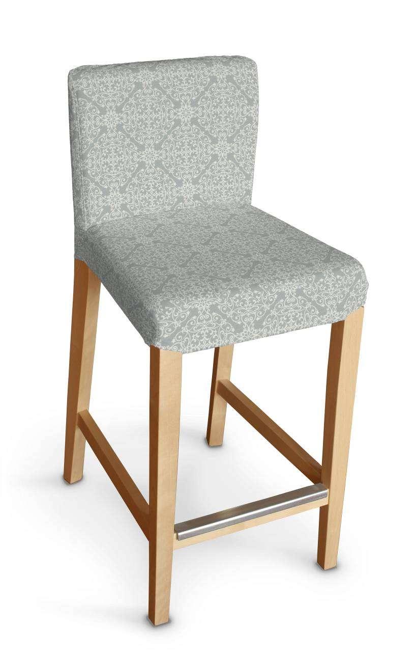 Sukienka na krzesło barowe Henriksdal krótka krzesło barowe Henriksdal w kolekcji Flowers, tkanina: 140-38