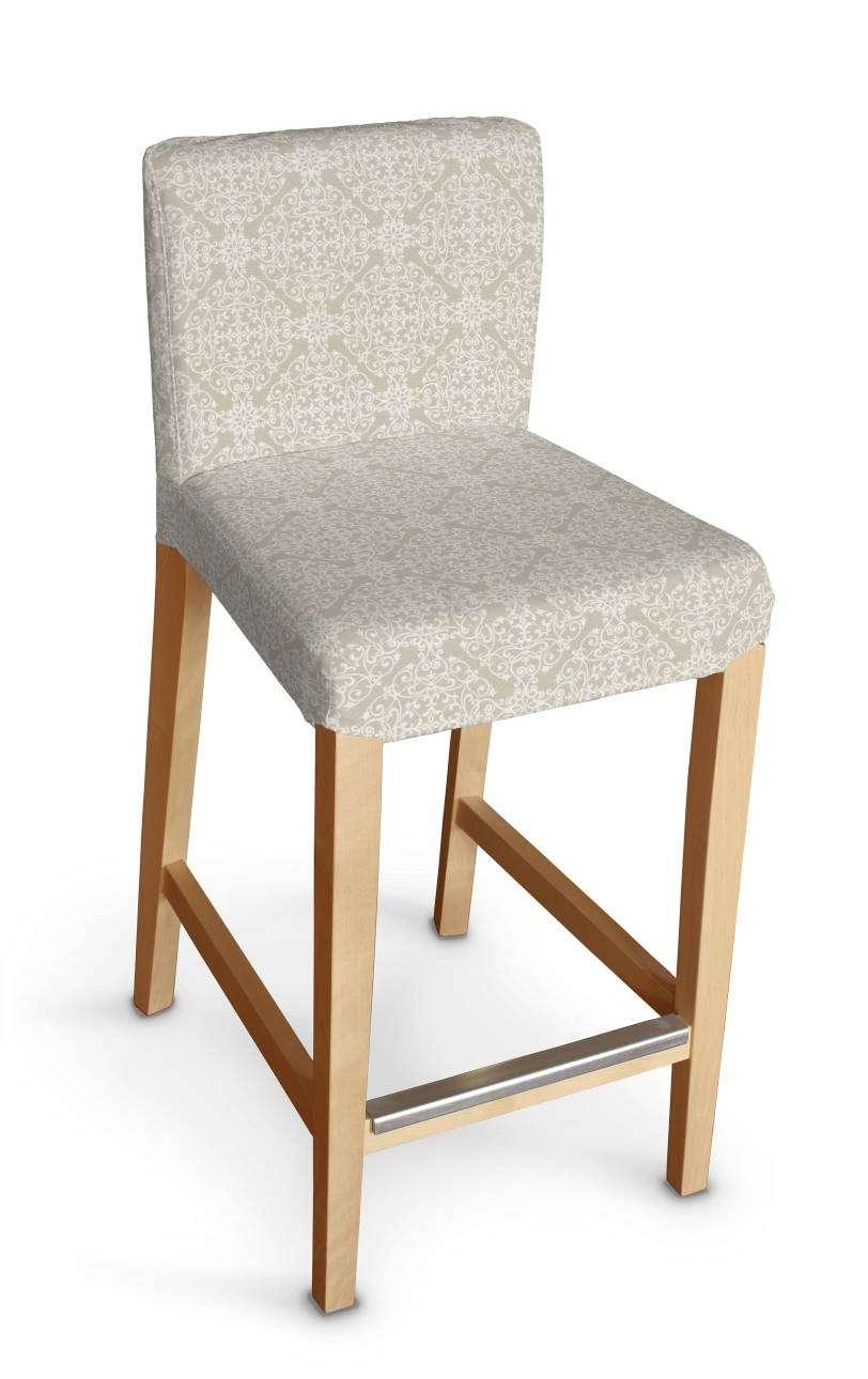 Sukienka na krzesło barowe Henriksdal krótka krzesło barowe Henriksdal w kolekcji Flowers, tkanina: 140-39