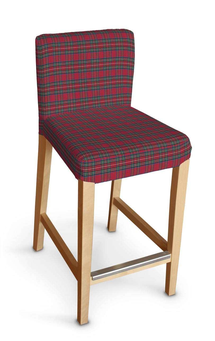 Sukienka na krzesło barowe Henriksdal krótka krzesło barowe Henriksdal w kolekcji Bristol, tkanina: 126-29