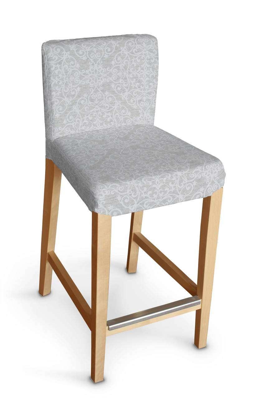 Sukienka na krzesło barowe Henriksdal krótka krzesło barowe Henriksdal w kolekcji Venice, tkanina: 140-49