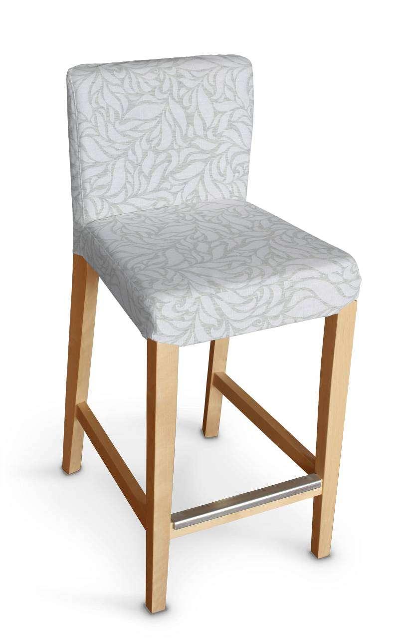 Sukienka na krzesło barowe Henriksdal krótka krzesło barowe Henriksdal w kolekcji Venice, tkanina: 140-50