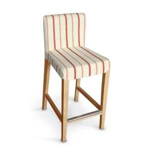 Sukienka na krzesło barowe Henriksdal krótka krzesło barowe Henriksdal w kolekcji Avinon, tkanina: 129-15