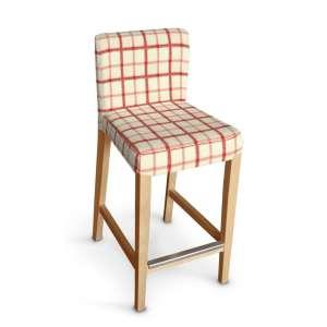 Sukienka na krzesło barowe Henriksdal krótka krzesło barowe Henriksdal w kolekcji Avinon, tkanina: 131-15