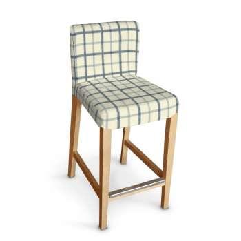 Sukienka na krzesło barowe Henriksdal krótka krzesło barowe Henriksdal w kolekcji Avinon, tkanina: 131-66
