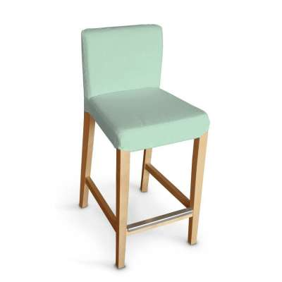 Návlek na barovú stoličku Henriksdal, krátky V kolekcii Loneta, tkanina: 133-61