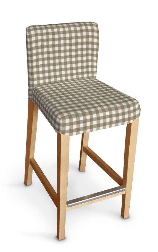 Henriksdal betræk barstol fra kollektionen Quadro II, Stof: 136-06