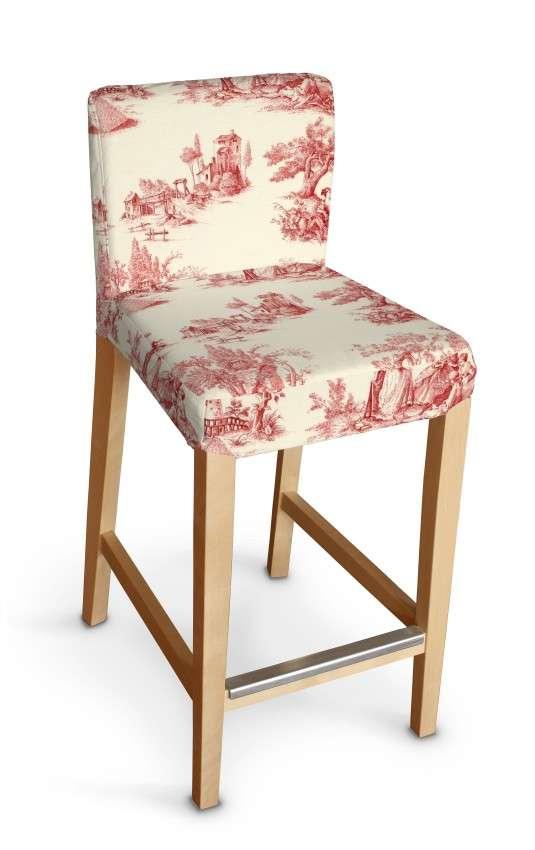 Sukienka na krzesło barowe Henriksdal krótka krzesło barowe Henriksdal w kolekcji Avinon, tkanina: 132-15