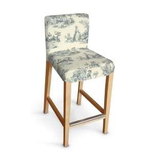 Sukienka na krzesło barowe Henriksdal krótka krzesło barowe Henriksdal w kolekcji Avinon, tkanina: 132-66
