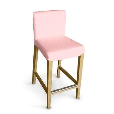 Návlek na barovú stoličku Henriksdal, krátky 133-39 púdrovo ružová Kolekcia Loneta