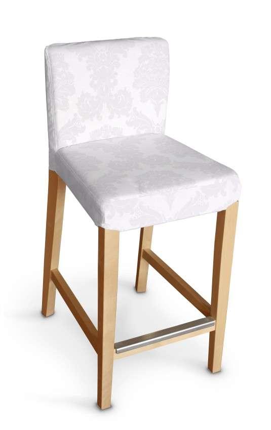 Hendriksdal baro kėdės užvalkalas - trumpas Hendriksdal baro kėdė kolekcijoje Damasco, audinys: 613-00