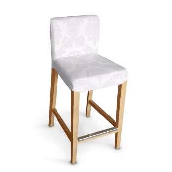 Sukienka na krzesło barowe Henriksdal krótka krzesło barowe Henriksdal w kolekcji Damasco, tkanina: 613-00