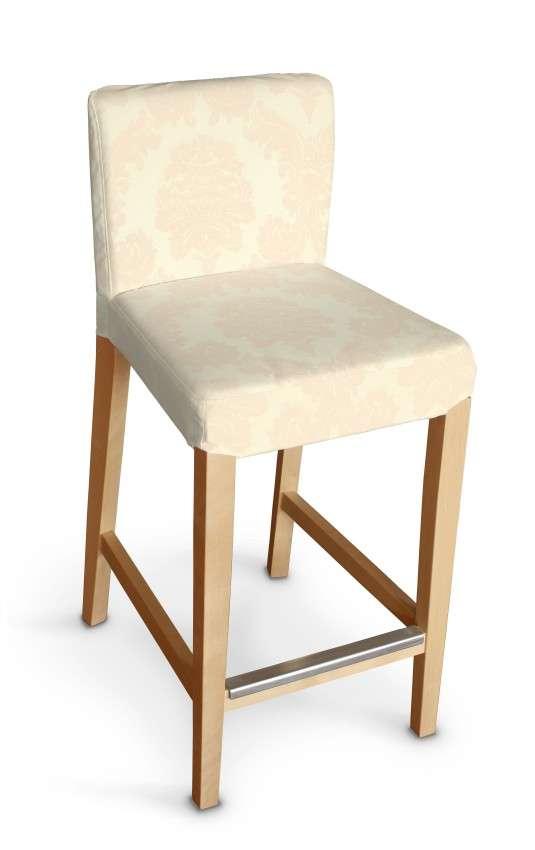 Hendriksdal baro kėdės užvalkalas - trumpas Hendriksdal baro kėdė kolekcijoje Damasco, audinys: 613-01