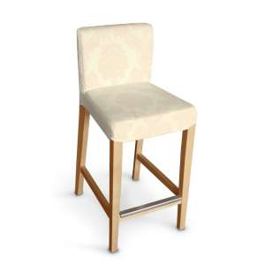 Sukienka na krzesło barowe Henriksdal krótka krzesło barowe Henriksdal w kolekcji Damasco, tkanina: 613-01