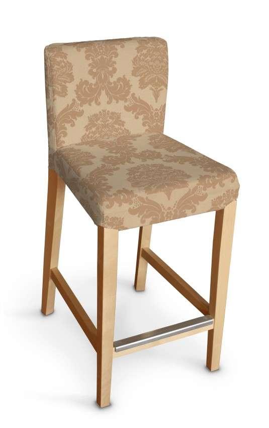 Sukienka na krzesło barowe Henriksdal krótka krzesło barowe Henriksdal w kolekcji Damasco, tkanina: 613-04