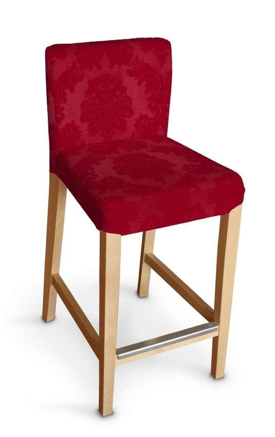 Hendriksdal baro kėdės užvalkalas - trumpas Hendriksdal baro kėdė kolekcijoje Damasco, audinys: 613-13