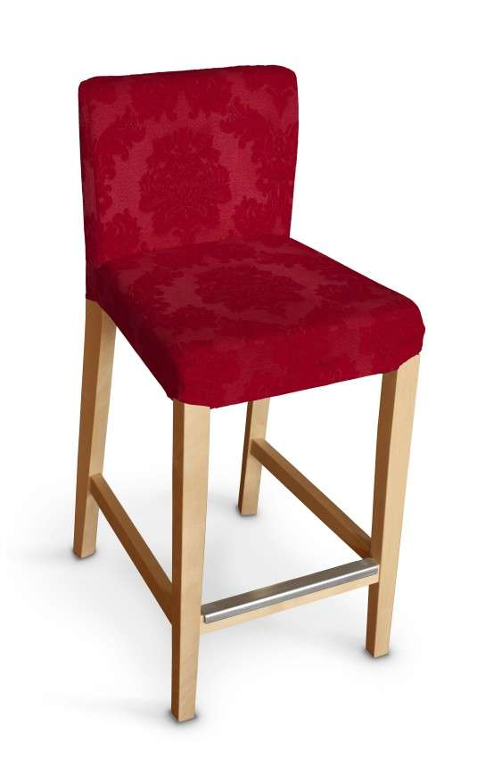 Sukienka na krzesło barowe Henriksdal krótka krzesło barowe Henriksdal w kolekcji Damasco, tkanina: 613-13
