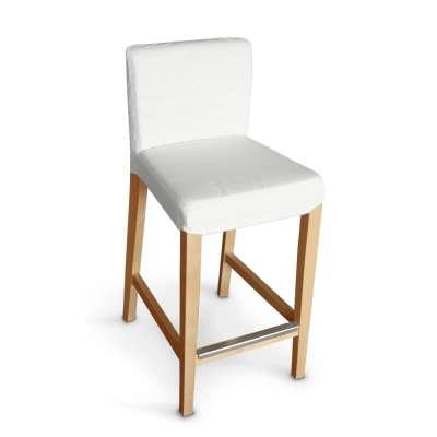 Návlek na barovú stoličku Henriksdal, krátky V kolekcii Jupiter, tkanina: 127-01