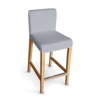 Návlek na barovú stoličku Henriksdal, krátky V kolekcii Jupiter, tkanina: 127-92