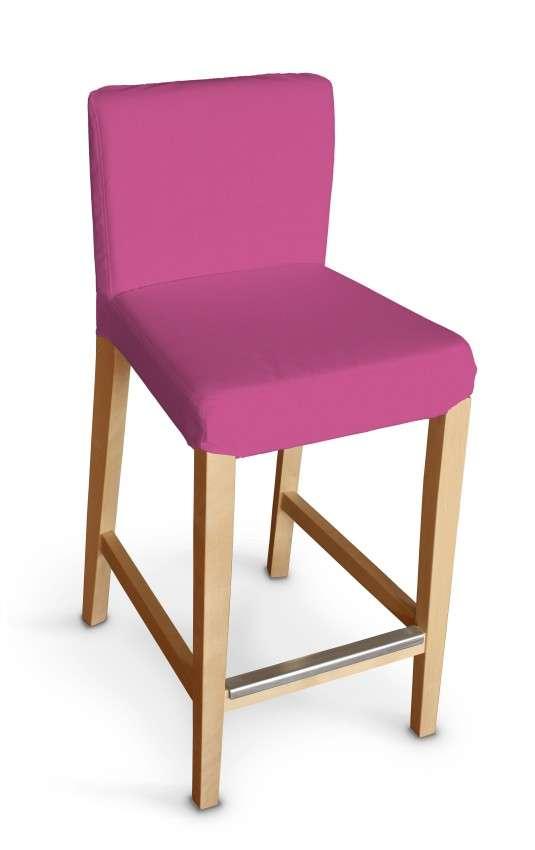 Návlek na barovú stoličku Henriksdal, krátky V kolekcii Jupiter, tkanina: 127-24