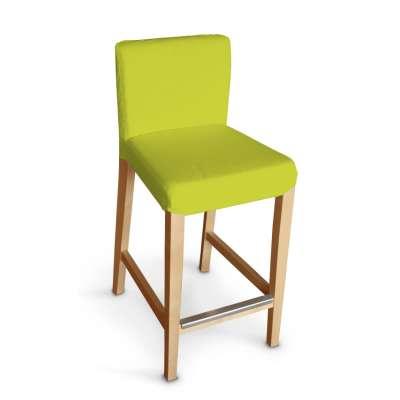 Návlek na barovú stoličku Henriksdal, krátky V kolekcii Jupiter, tkanina: 127-50