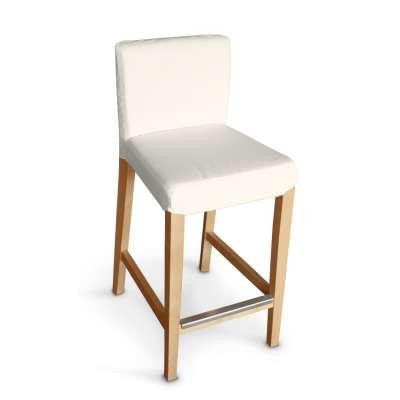 Návlek na barovú stoličku Henriksdal, krátky V kolekcii Jupiter, tkanina: 127-00