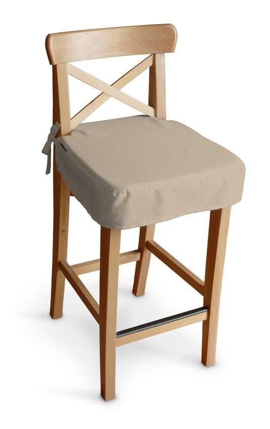 Siedzisko na krzesło barowe Ingolf krzesło barowe Ingolf w kolekcji Cotton Panama, tkanina: 702-01