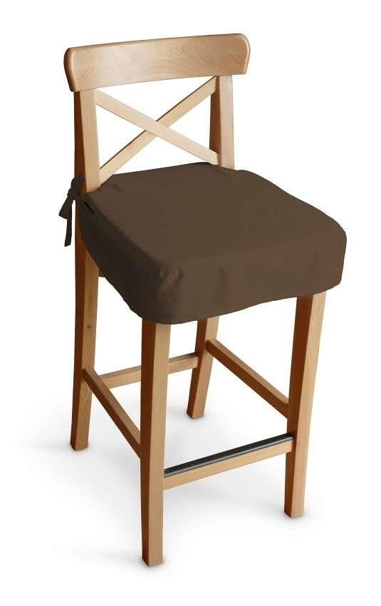 Sitzkissen für Barhocker Ingolf Barstuhl  Ingolf von der Kollektion Cotton Panama, Stoff: 702-02