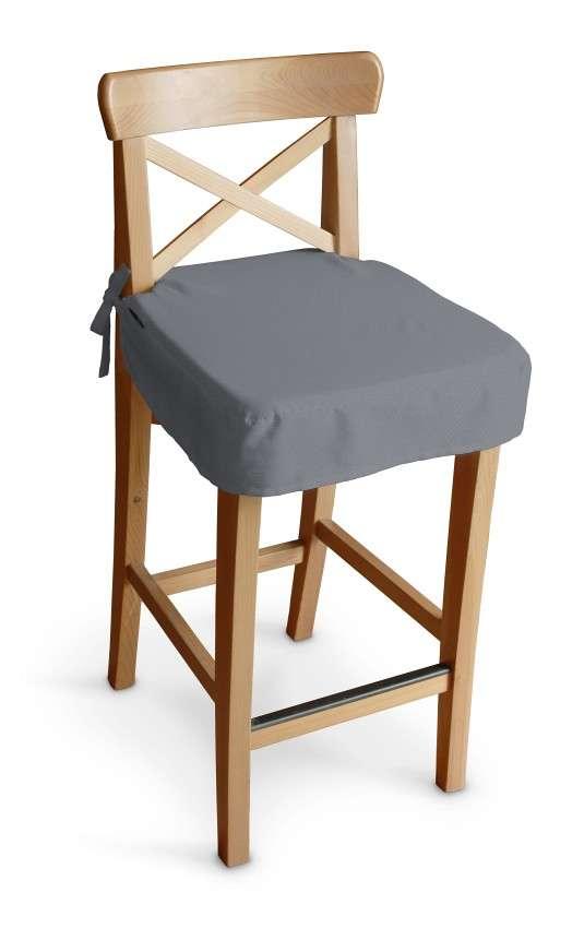Ingolf baro kėdės užvalkalas - trumpas Ingolf baro kėdė kolekcijoje Cotton Panama, audinys: 702-07