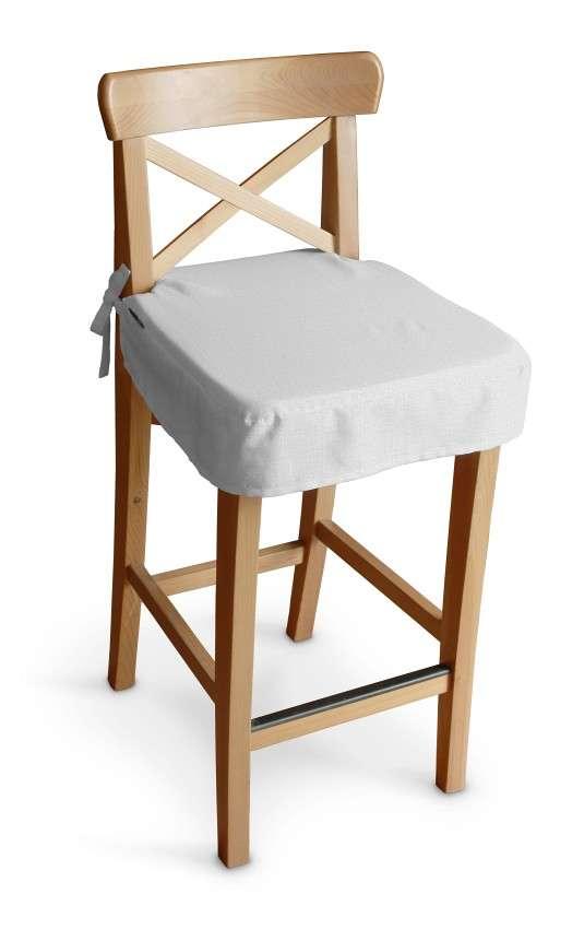Siedzisko na krzesło barowe Ingolf krzesło barowe Ingolf w kolekcji Linen, tkanina: 392-04