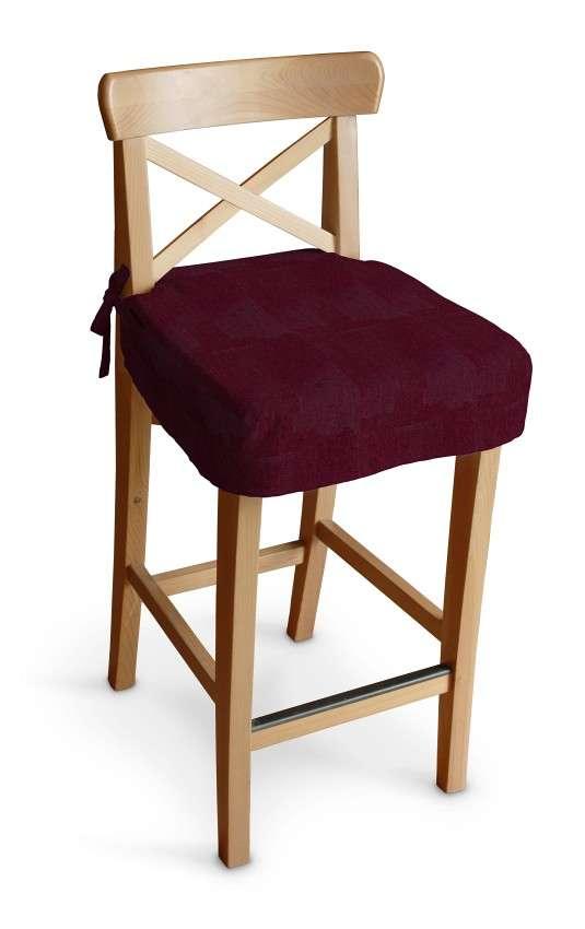 Siedzisko na krzesło barowe Ingolf krzesło barowe Ingolf w kolekcji Chenille, tkanina: 702-19