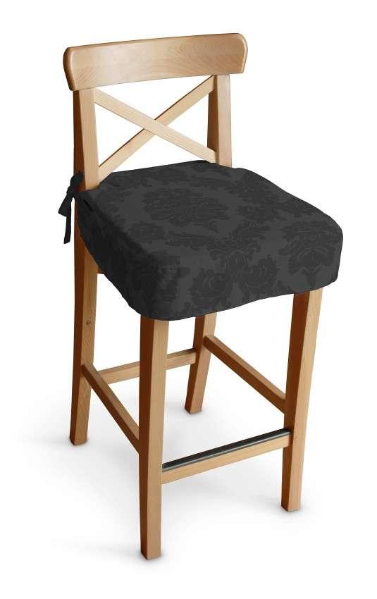 Ingolf baro kėdės užvalkalas - trumpas Ingolf baro kėdė kolekcijoje Damasco, audinys: 613-32